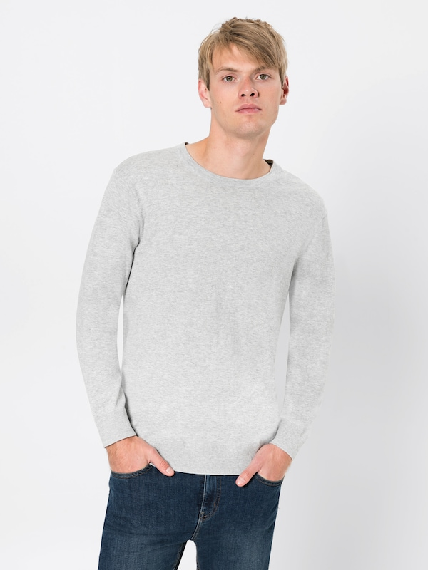 Cashmere Knit En Blauw Gris 'ams Pull Scotchamp; In Fit' Cotton Soda Regular over PTOikXZu