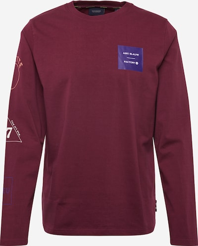SCOTCH & SODA Pullover 'Long sleeve tee with placed artworks' in rot, Produktansicht