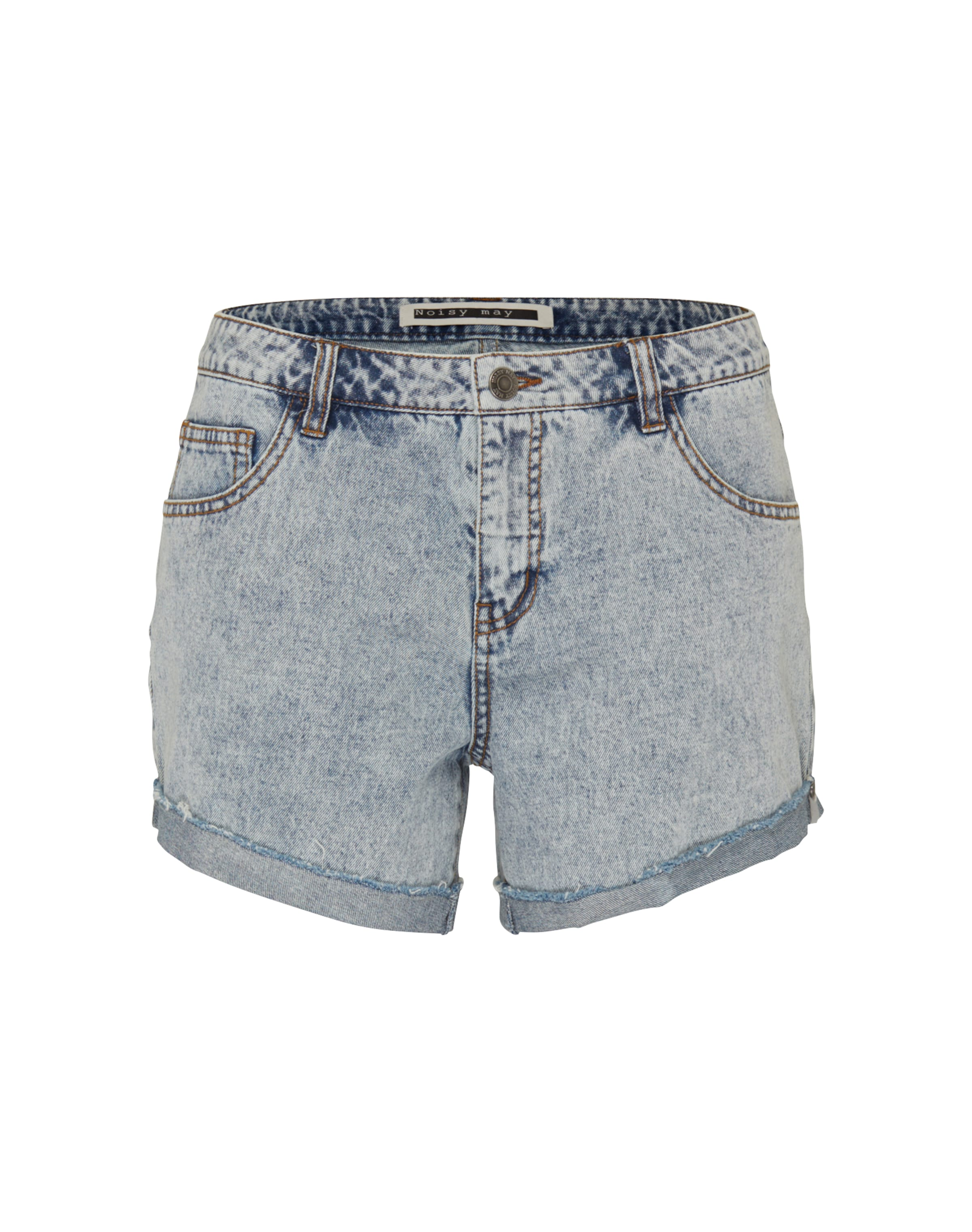 'NMFRAN' Denim Shorts