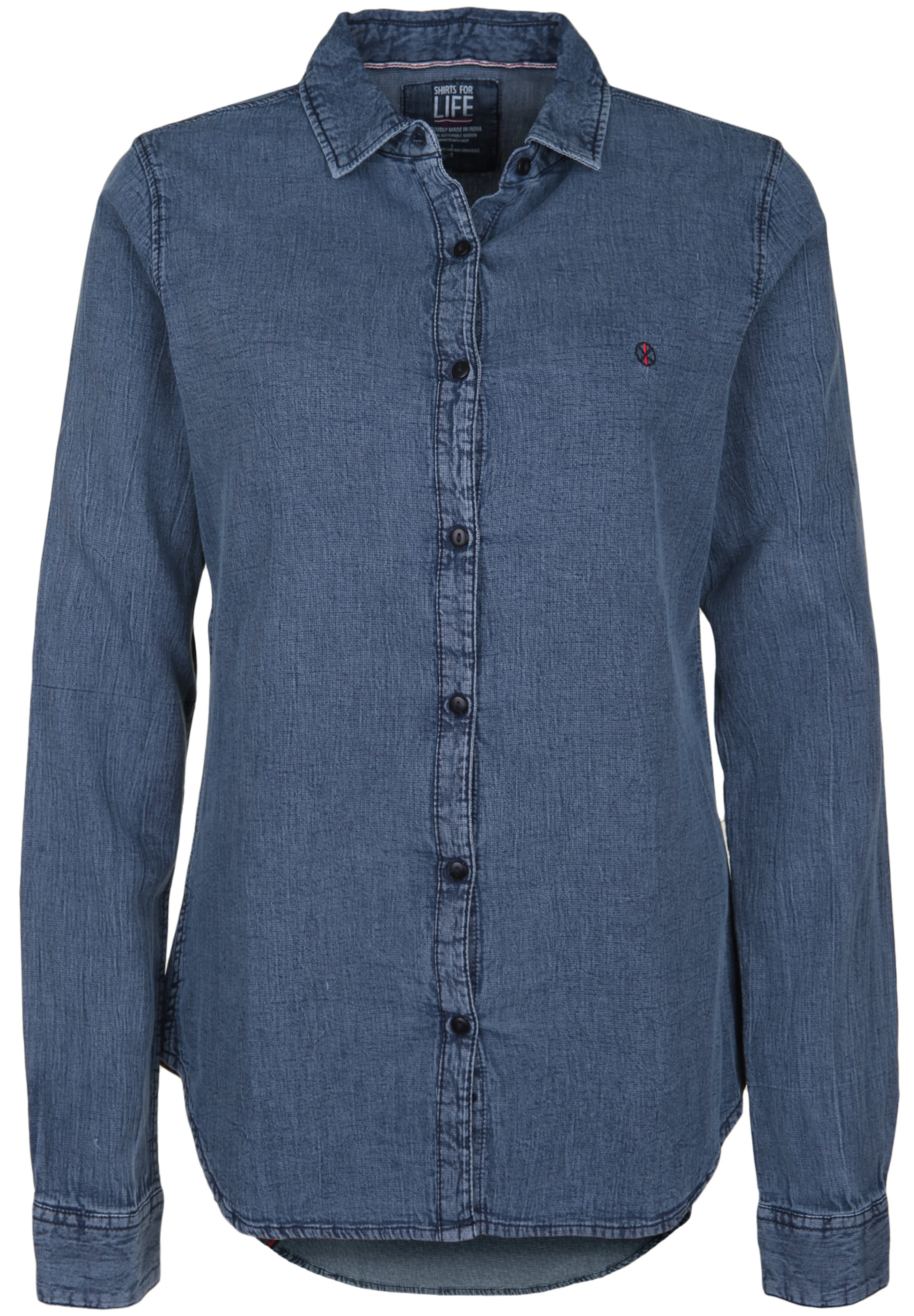 Shirts 'jane' Blue Denim Life Jeansbluse For In trdsQhC