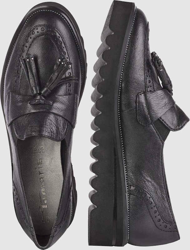Tamaris Loafer With Plateau Sole