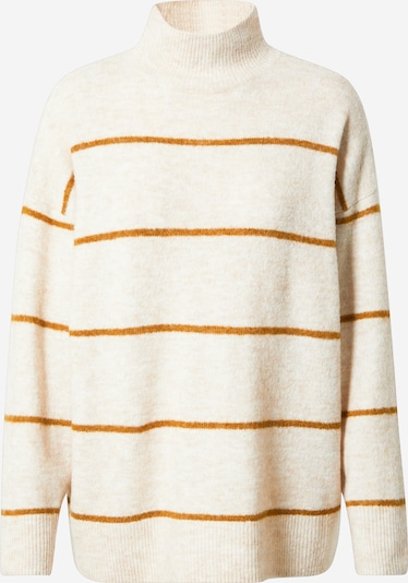 OBJECT Pullover in creme / rostrot, Produktansicht