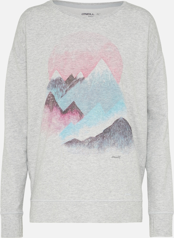 O'neill Bleu Mountain' Chiné ClairGris 'pw shirt En Sweat KcJFl1T