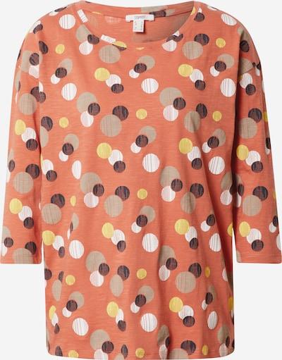 ESPRIT T-shirt en mélange de couleurs / orange, Vue avec produit