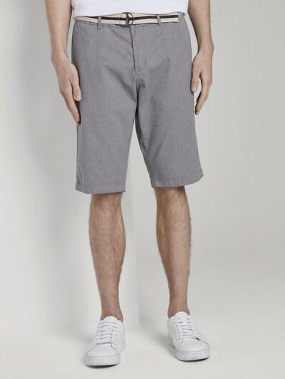TOM TAILOR Chino 'Josh' in de kleur Grijs, Modelweergave