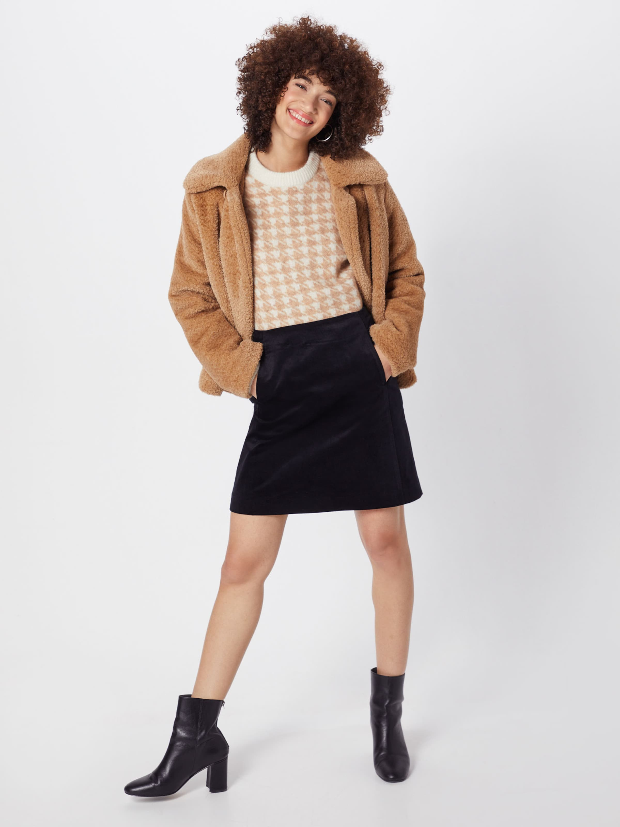 Re 'velvet draft Noir Jupe Skirt' En jUVpGLqSzM