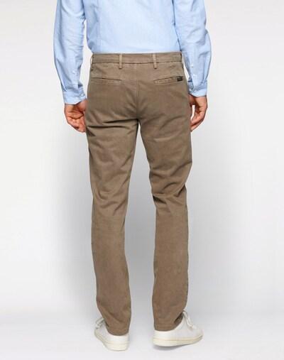 Pantaloni chino 'Slimmy Chino' 7 for all mankind di colore grigio scuro: Vista da dietro