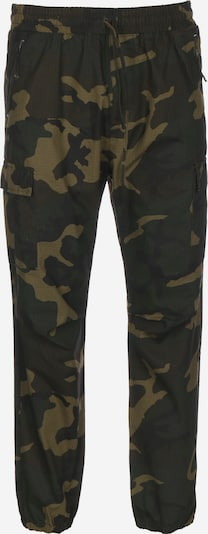 Carhartt WIP Pantalon cargo ' Cargo Jogger ' en marron / vert, Vue avec produit