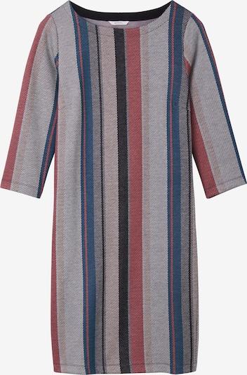 Sandwich Kleid in blau / grau / pink, Produktansicht