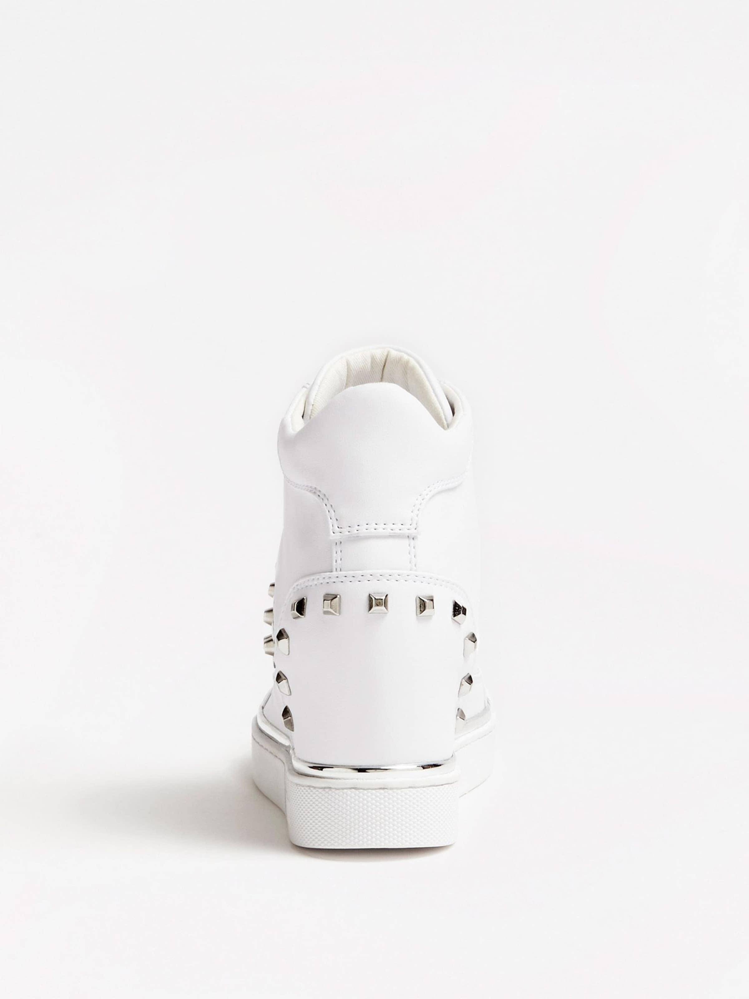Feelixi' In Sneaker 'zeppa Weiß Guess N0v8wOmn