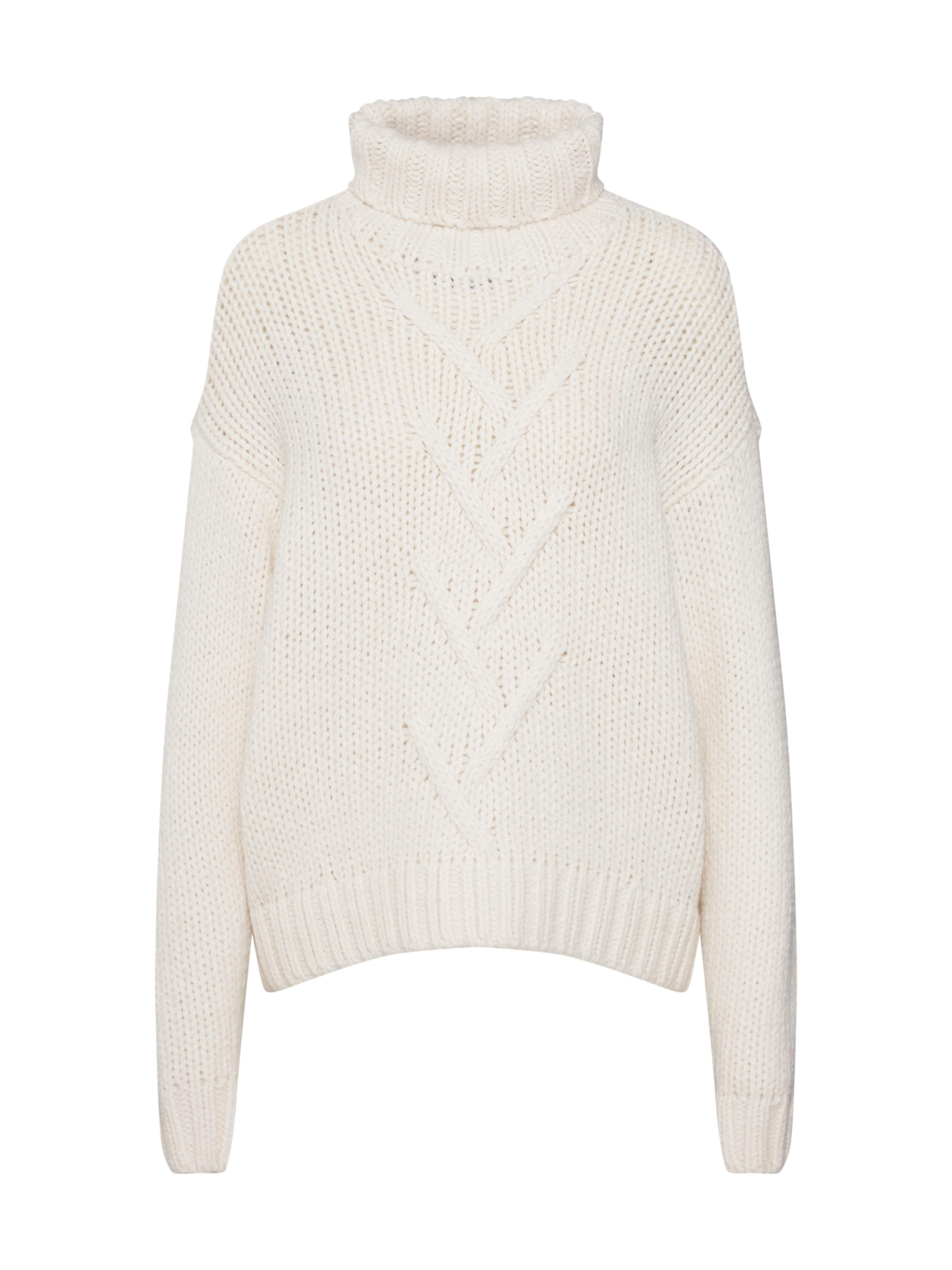 s Blanc over L Noisy 'nmkira High In Knit' MayPull Neck 0wknN8XZOP