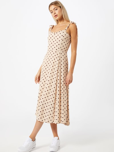OBJECT Kleid in beige / offwhite, Modelansicht