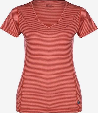 Fjällräven Shirt 'Abisko Cool' in pastellrot, Produktansicht