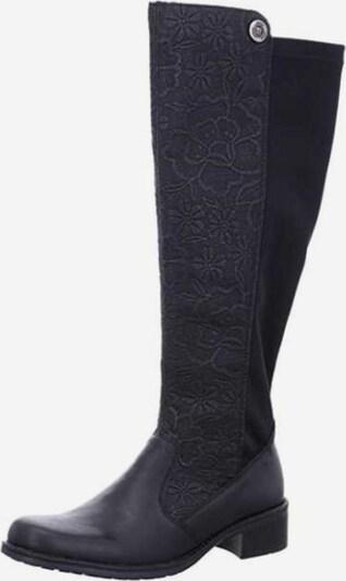 RIEKER Stiefel in schwarz: Frontalansicht