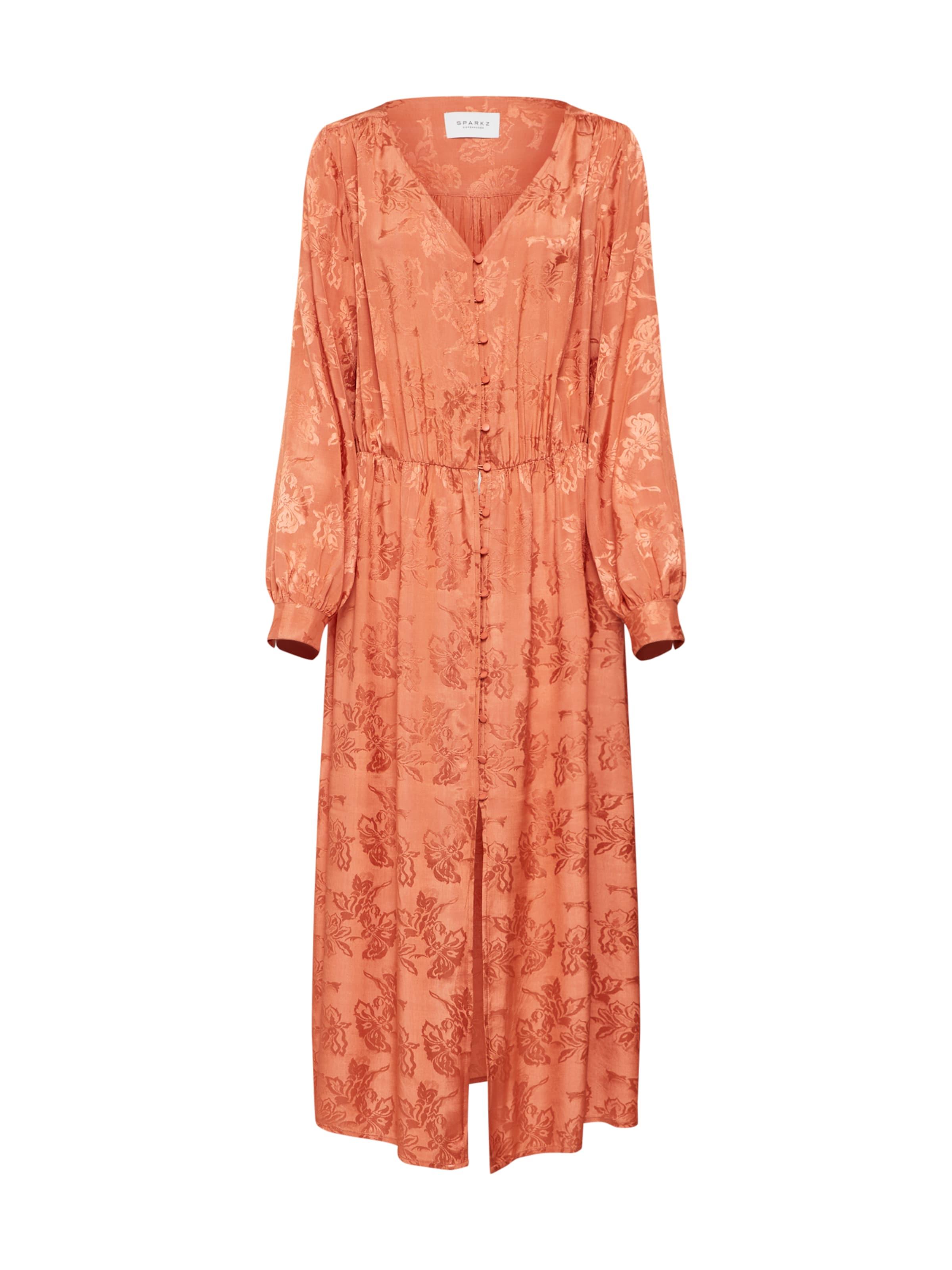 Long In 'tia Kleid Sparkz Dress' Orange fYb76gy