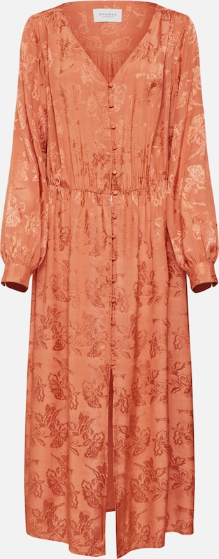En 'tia Dress' Robe Orange Sparkz Long D'été qGUzSpMV