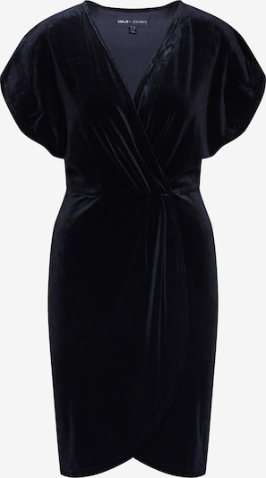 Mela London Sukienka 'WRAP FRONT VELVET DRESS' w kolorze czarnym, Podgląd produktu