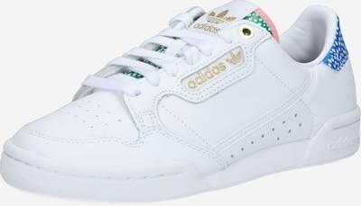 ADIDAS ORIGINALS Sneaker 'Continental 80' in blau / grün / weiß, Produktansicht