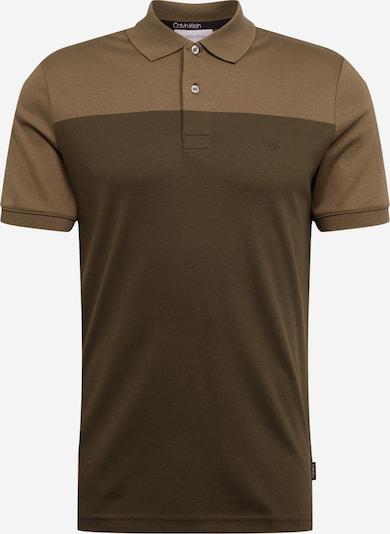 Calvin Klein Poloshirt in khaki, Produktansicht