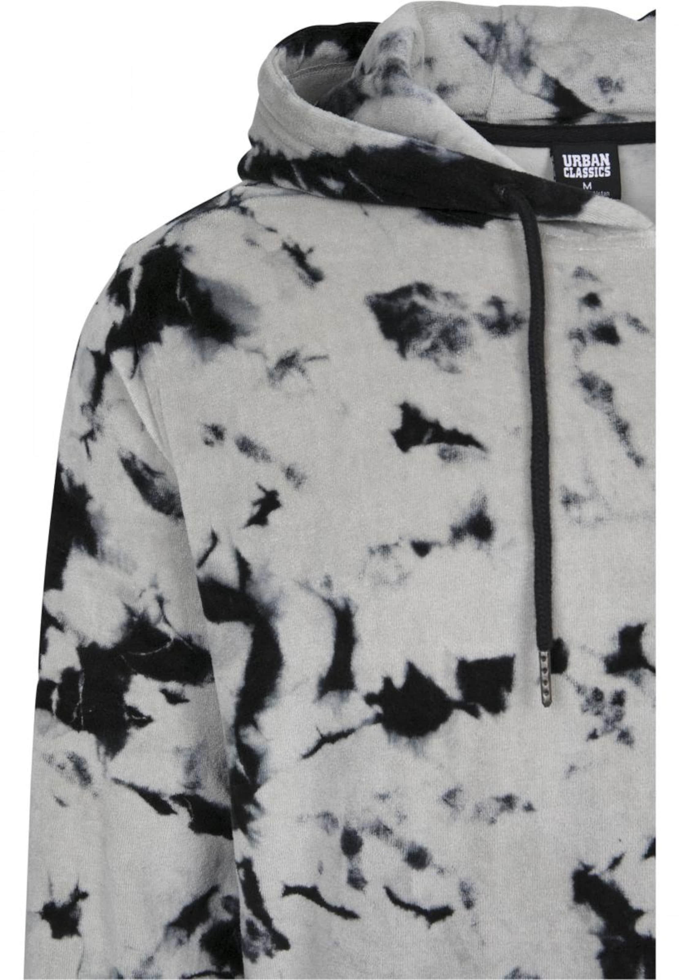 Urban In GrauSchwarz Classics 'velvet Hoody Tie Dye' 2IEDe9YbWH