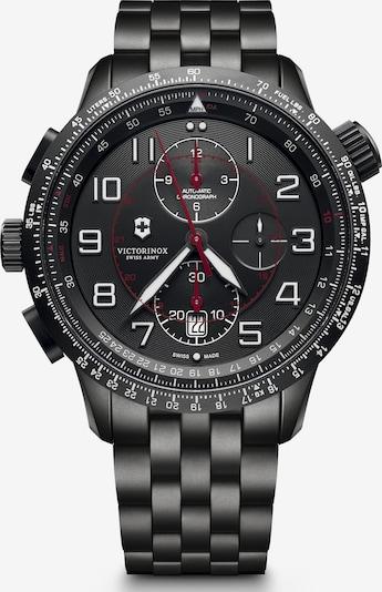 VICTORINOX Analoog horloge 'Airboss Mach 9' in de kleur Zwart, Productweergave