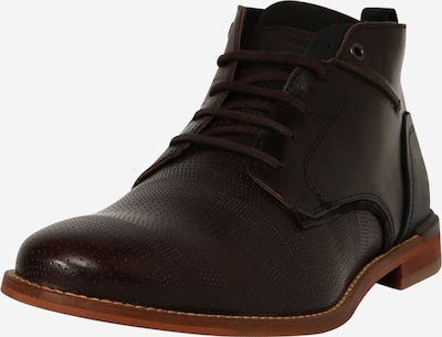 Pantofi cu șireturi BULLBOXER pe maro închis: Privire frontală