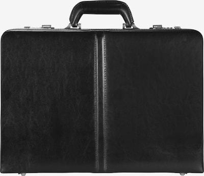 D&N Aktenkoffer in schwarz, Produktansicht