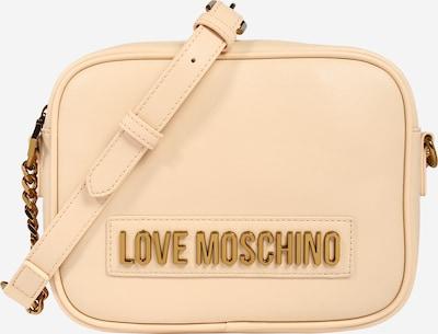 Love Moschino Sac à bandoulière 'Smooth' en beige clair / or, Vue avec produit