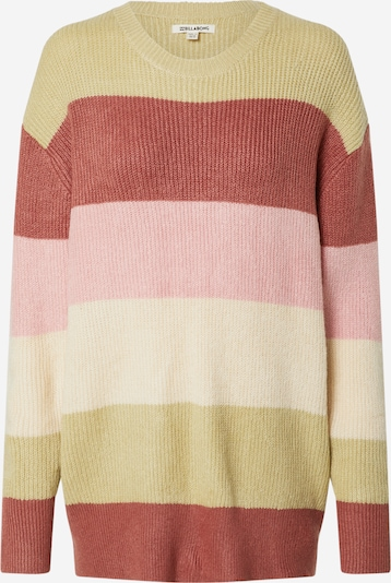 BILLABONG Pull-over oversize 'NIGHT OUT' en mélange de couleurs / rose, Vue avec produit