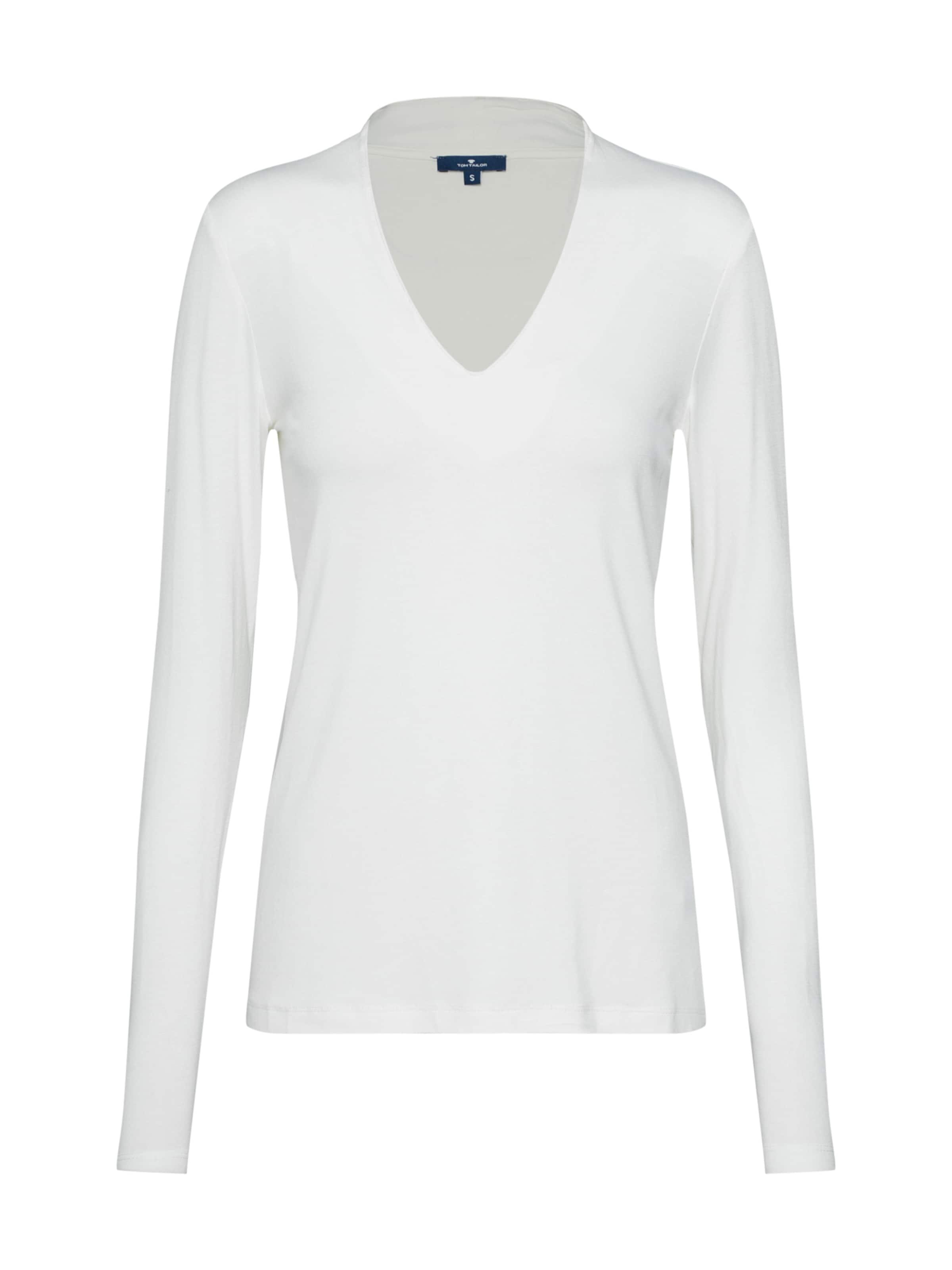 En Tailor Tom shirt Naturel Blanc T dxeCoB