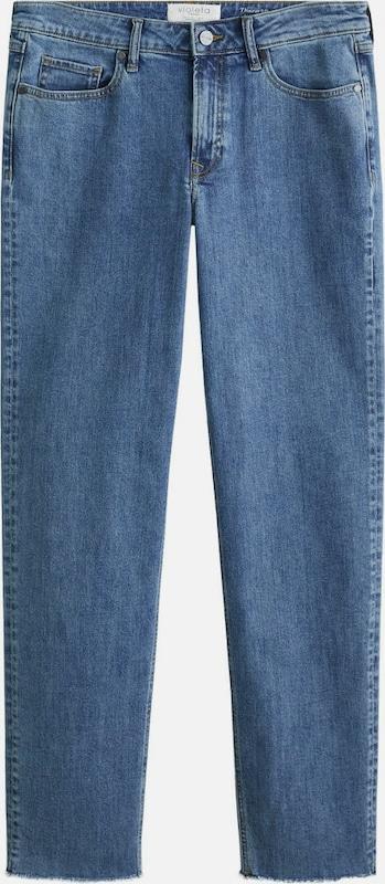 lilaA by Mango Jeans 'Theresa' in blau  Bequem und günstig