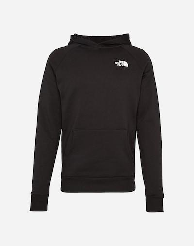 THE NORTH FACE Sweater majica 'M RAGLAN RED BOX HD' u crna, Pregled proizvoda