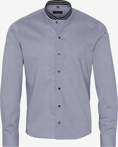 ETERNA Langarm Hemd SLIM FIT in blau / weiß, Produktansicht