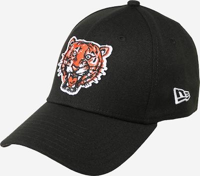 Șapcă 'COOPSTOWN' NEW ERA pe portocaliu închis / negru / alb, Vizualizare produs