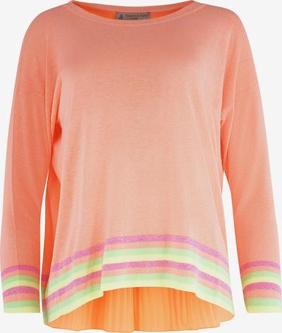 THOMAS RATH Trui ' Cortina ' in de kleur Groen / Sinaasappel / Pink, Productweergave