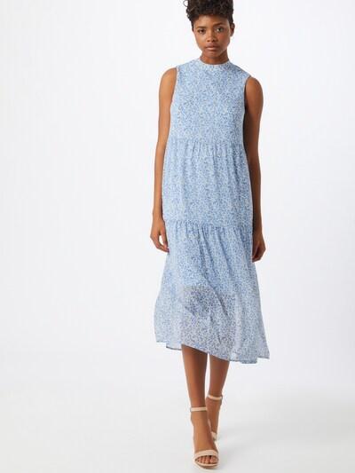 VERO MODA Kleid in beige / blau, Modelansicht