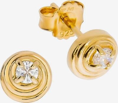 FIRETTI Ohrstecker in gold / silber, Produktansicht