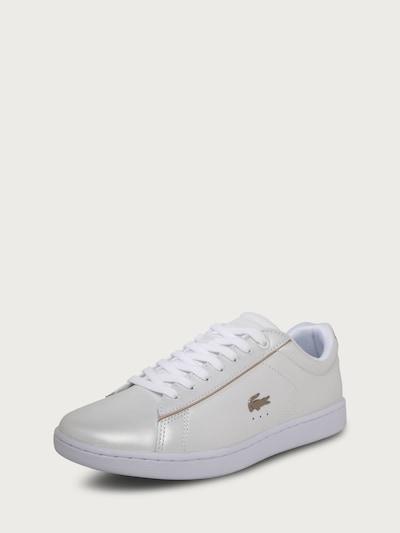 LACOSTE Sneaker 'Carnaby Evo' in gold / weiß, Produktansicht