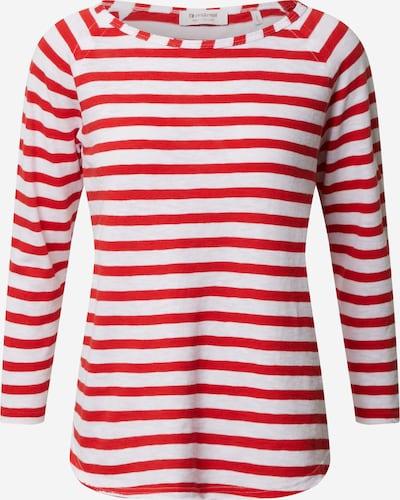 Rich & Royal T-shirt en rouge, Vue avec produit