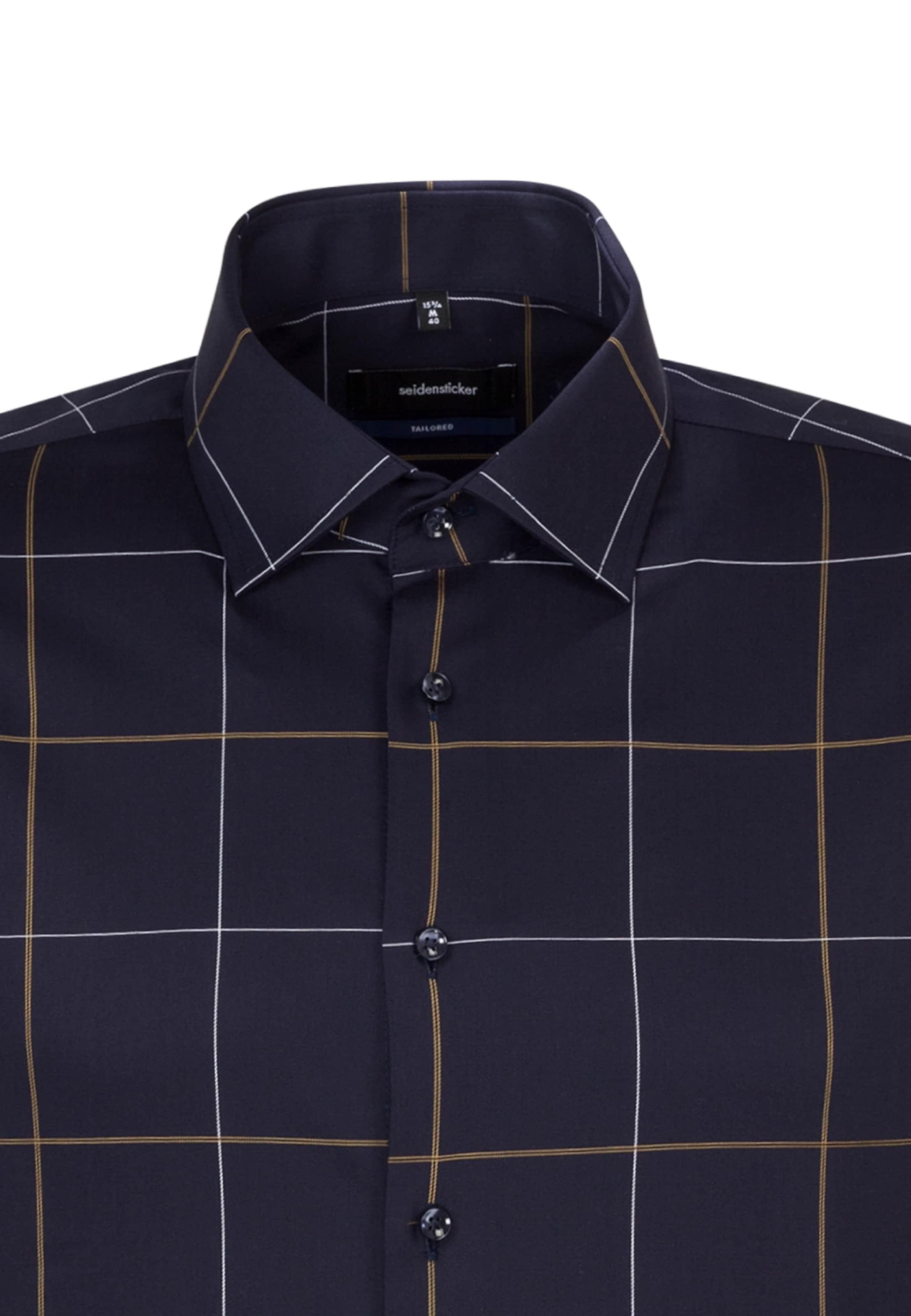 Dunkelblau Hemd 'tailored' 'tailored' In Hemd In Seidensticker Seidensticker e2IWDYE9H