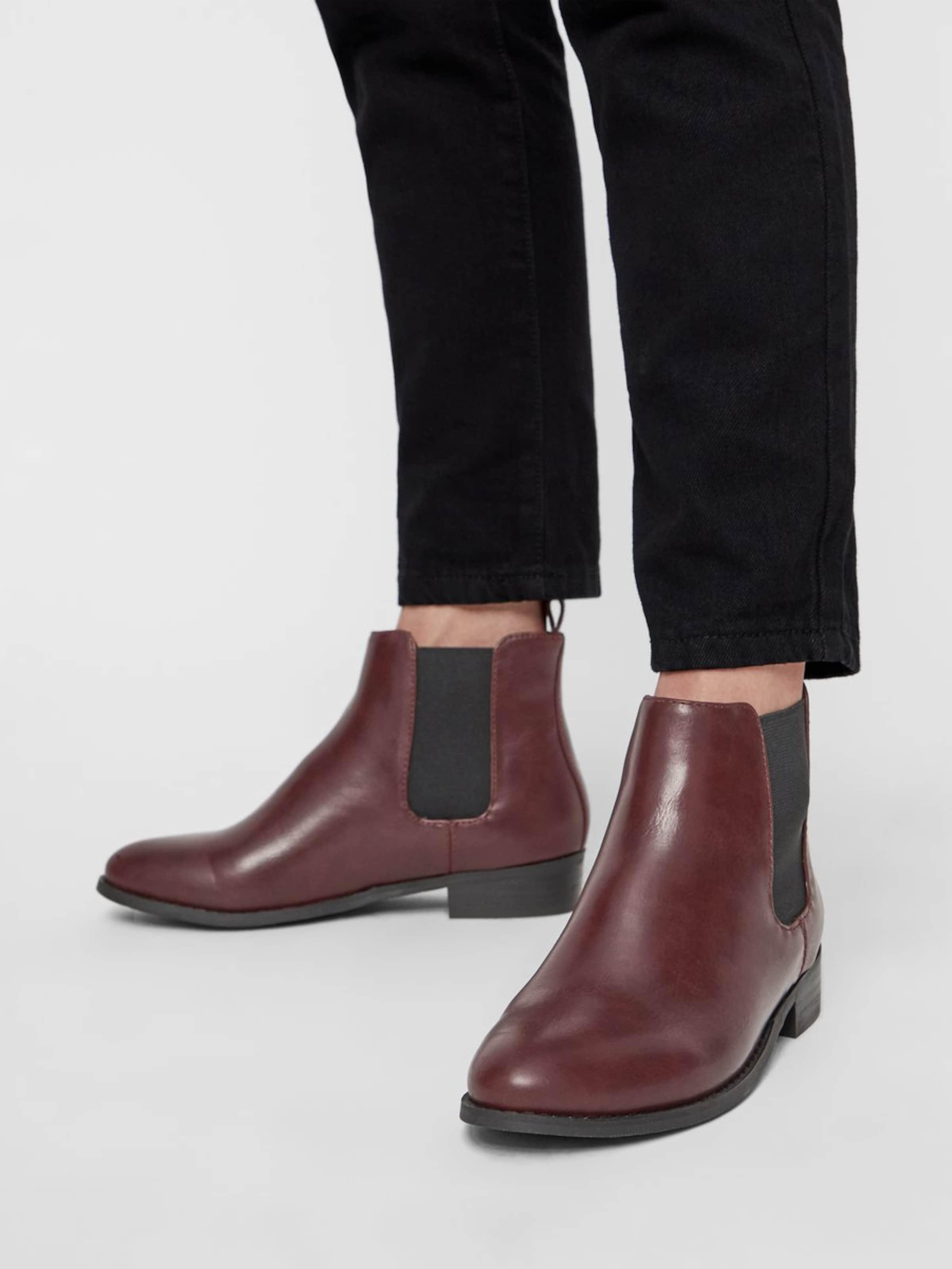 Bianco BourgogneNoir BourgogneNoir Boots En Boots Chelsea Bianco Chelsea En F1lKJc