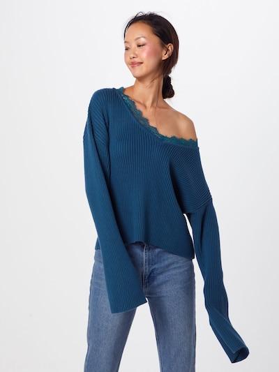 GLAMOROUS Pullover 'AC2207' in dunkelblau, Modelansicht