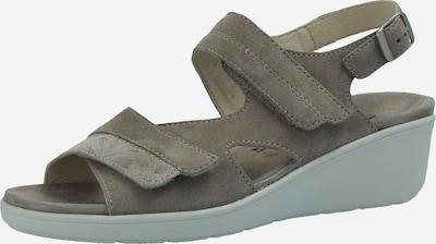 SEMLER Sandalen/Sandaletten in grau, Produktansicht