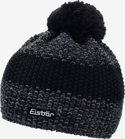 Eisbär Mütze in anthrazit / schwarz, Produktansicht