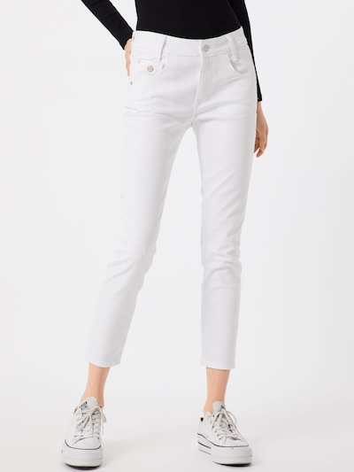 Mavi Jeans 'Adriana' in white denim, Modelansicht