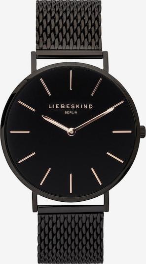 Liebeskind Berlin Uhr in schwarz, Produktansicht