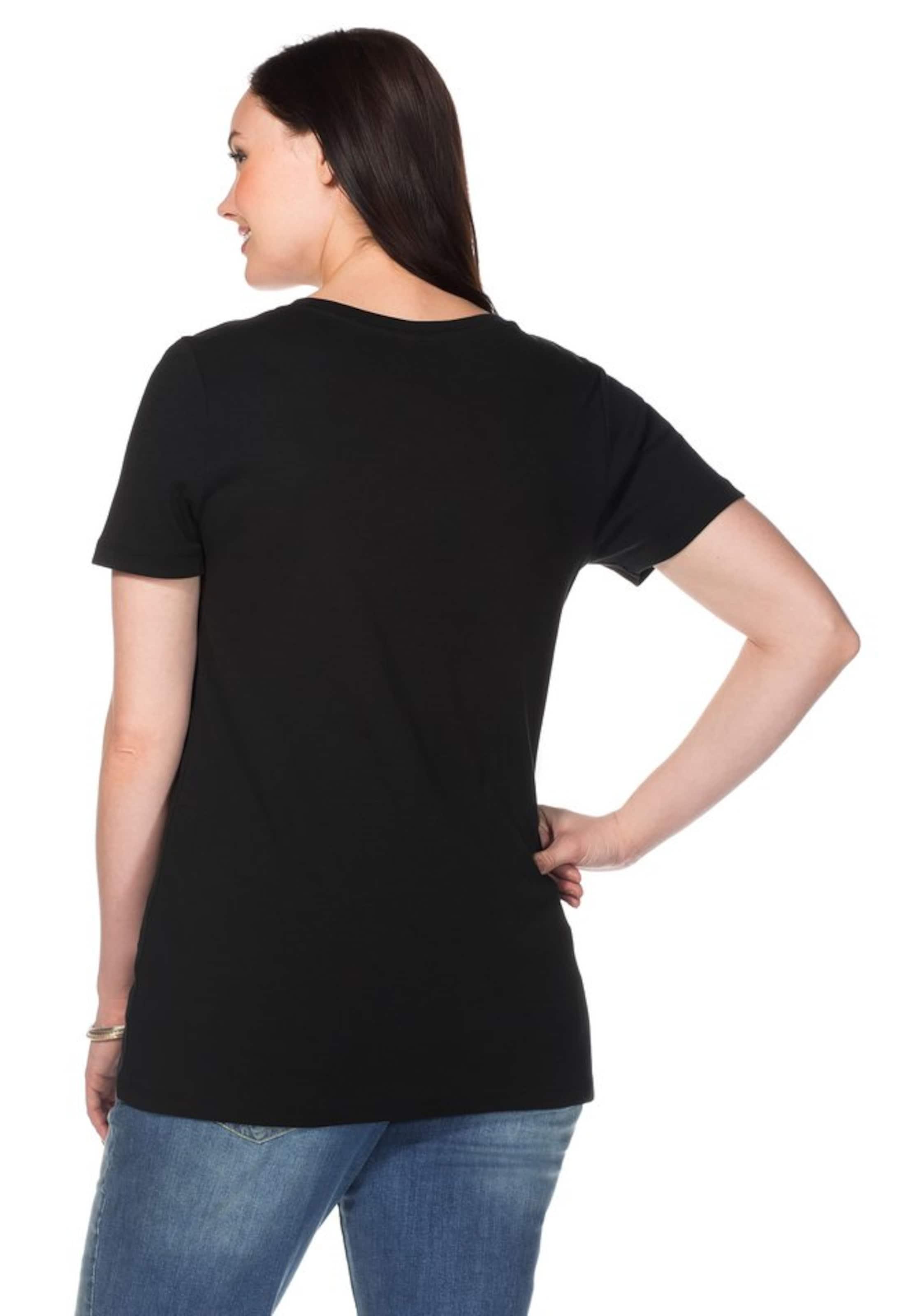 Sheego In T shirt Sheego Sheego Schwarz Schwarz In T shirt rCxoQEdBeW