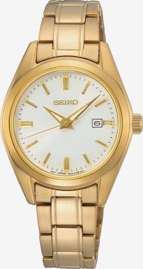 SEIKO Analog Watch in Gold / White, Item view