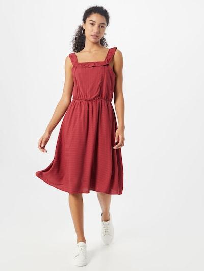 VERO MODA Kleid in rot, Modelansicht