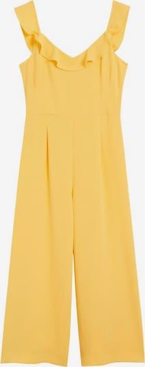 MANGO Overall in gelb, Produktansicht